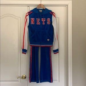 Collectors NJ NETS Valor sweat suit